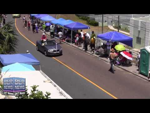 Lead Cars In The Bermuda Day Parade, May 26 2014
