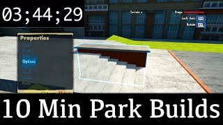 10 Minute Park Build Challenge - Big 4 Stair
