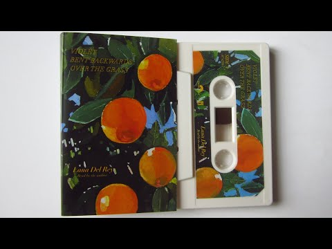 Lana Del Rey - Violet Bent Backwards Over The Grass / cassette unboxing /