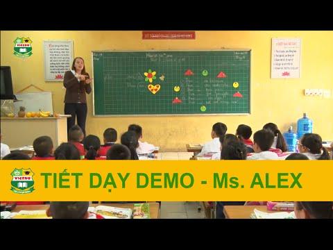 Tiết dạy Demo Tiểu học - Ms. Alex - Giáo viên bản ngữ