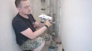 Переборка стояка канализации. Пушкино.(, 2016-08-08T16:44:50.000Z)