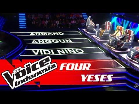 Langganan Juara Kompetisi? Auto Four Yeses! | FOUR YESES | The Voice Indonesia GTV 2018