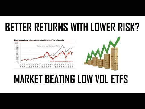 Beat The Market With Less Risk?  Invest In Low Volatility ETFS