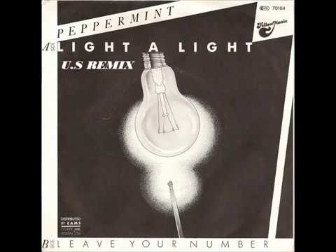 Peppermint - Light a Light (High Energy)-Italo Disco 80's Dance
