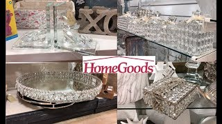 HOME GOODS SHOP WITH ME| GLAM LUXURY HOME DECOR 2018