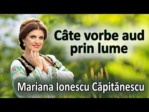 Mariana Ionescu Capitanescu Cate vorbe aud prin lume