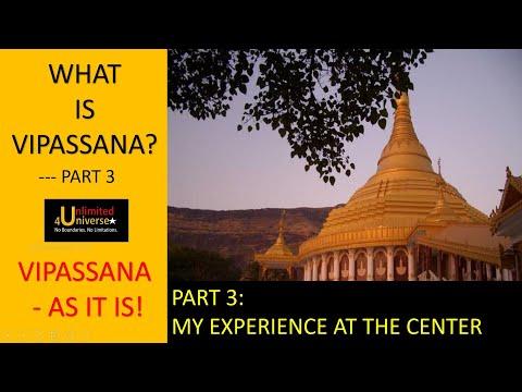 The Vipassana Way Part 3   My Experience at Vipassana Center   Dhammagiri Igatpuri
