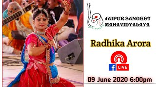 "JSMV  & Sabrang Sansthan ""भेंट "" The Gift For Life with Radhika Arora Date 9 June 2019"