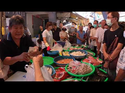 Seafood Auction - Traditional Taiwanese Market