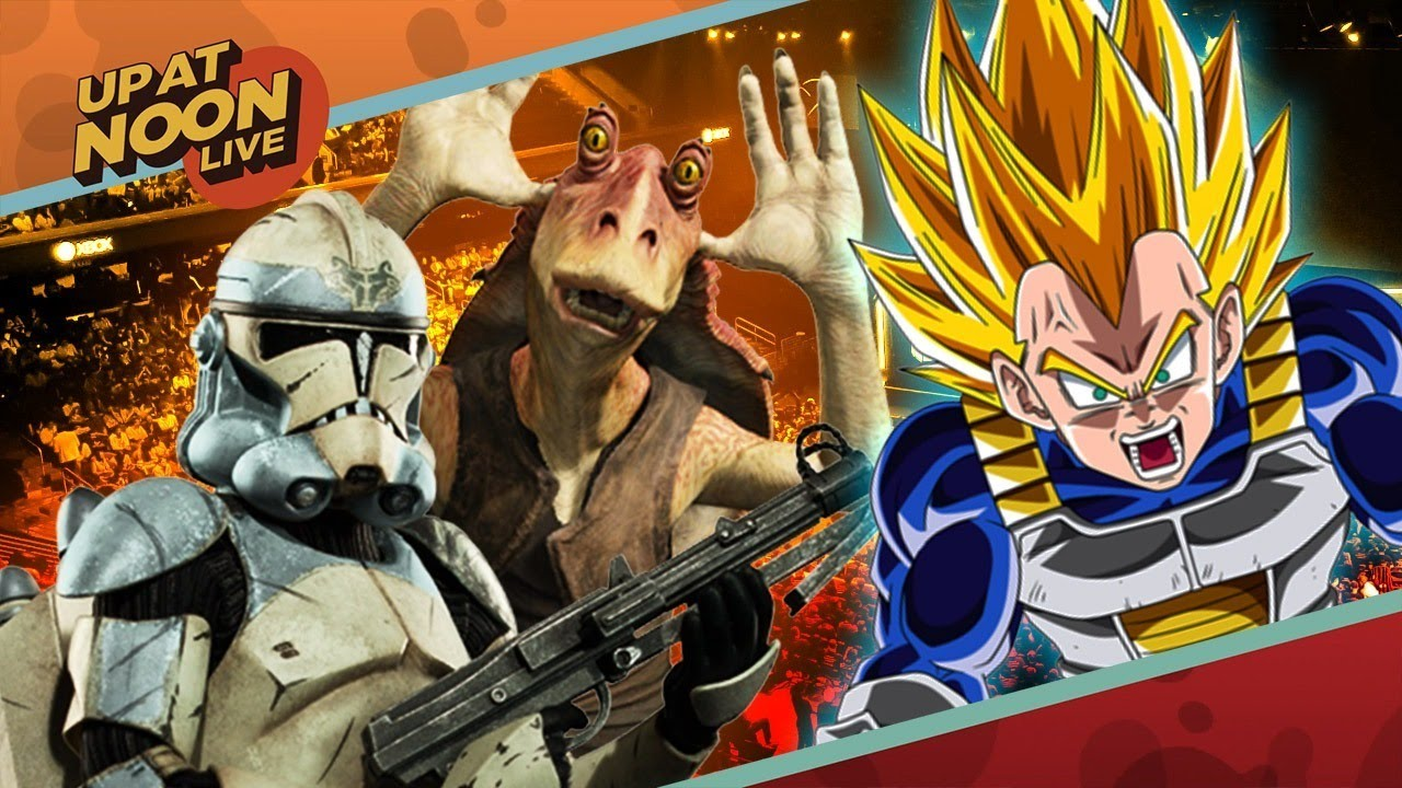 E3 Is Hot with Star Wars Battlefront 2 and Dragonball FighterZ – Up At Noon @ E3 2017!
