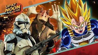 E3 Is Hot with Star Wars Battlefront 2 and Dragonball FighterZ - Up At Noon @ E3 2017! thumbnail