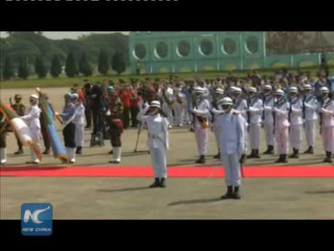 President Xi Jinping arrives in Bangladesh for state visit