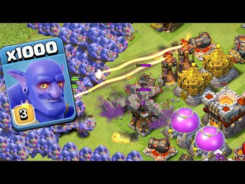 1000 Max Bowler Amayzing Attack On Clash Of Clans | COC Mod Server