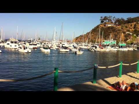Sailing to Catalina Island