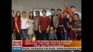 "UB: Cast ng upcoming Kapuso romcom serye na ""The One That Got Away,"" todo ang paghahanda"