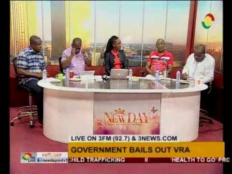 Discusing VRA's debt and the possible restructuring on NewDay Saturday Edition - 16/7/2016