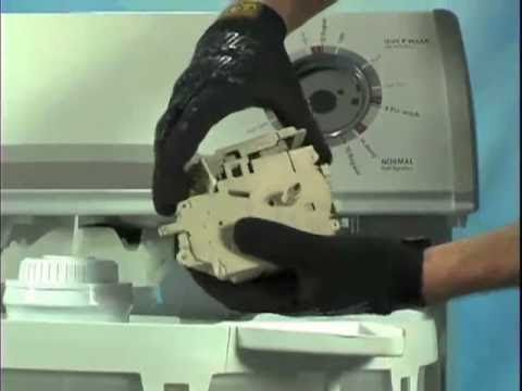 Washer Timer  Pressure Switch Repair - YouTube