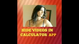 Video How to Hide Videos and Images in Calculator app|Tamil|Hide videos download MP3, 3GP, MP4, WEBM, AVI, FLV Juni 2018