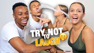 TRY NOT TO LAUGH CHALLENGE!! (HILARIOUS)