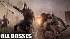 Assassin's Creed Origins - All Bosses (With Cutscenes) HD 1080p60 PC