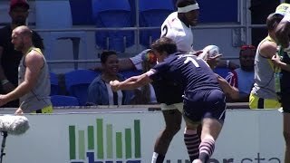 Sevens Re:Live! Fiji's nearly try v Scotland