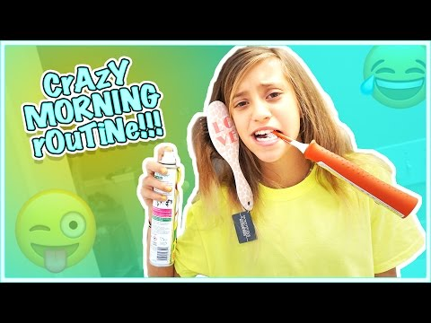 JAYLA'S REALISTIC MORNING ROUTINE  WHO'S PEEKING IN THE MIRROR?!
