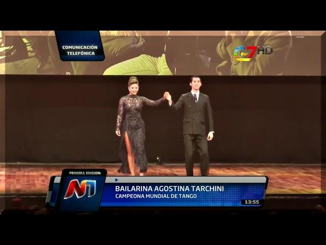La vida y el tango de Agostina Tarchini campeona mundial de tango