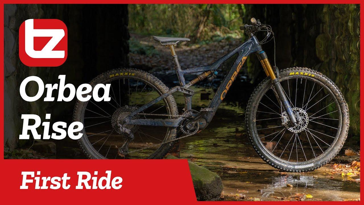 RIDING THE NEW ORBEA RISE | Our New Favorite E-bike? | First Ride | Tredz Bikes