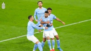 PSG Vs Man City 1-2 UCL 2021 Mahrez Free Kick Goal Highlights