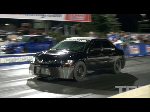 CRAZY FAST 4 cylinders - Mitsubishi Evolution MADNESS!