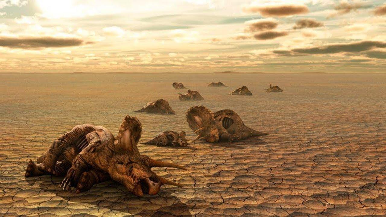 كيف صار العالم بعد موت الديناصورات في  ساعاتها الاخيرة !
