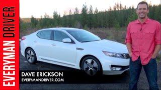 2012 Kia Optima Hybrid Review on Everyman Driver