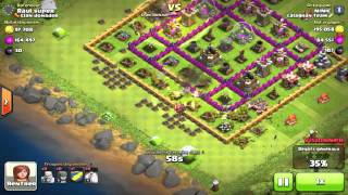 Clash Of Clans Guide Attack Strategy - Barcher Farming - Calaghan Team