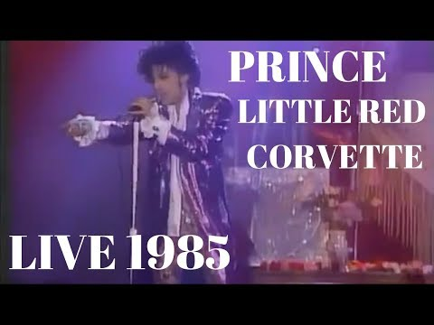 Prince - Little Red Corvette w/ Extended Synth Intro [Live 1985]