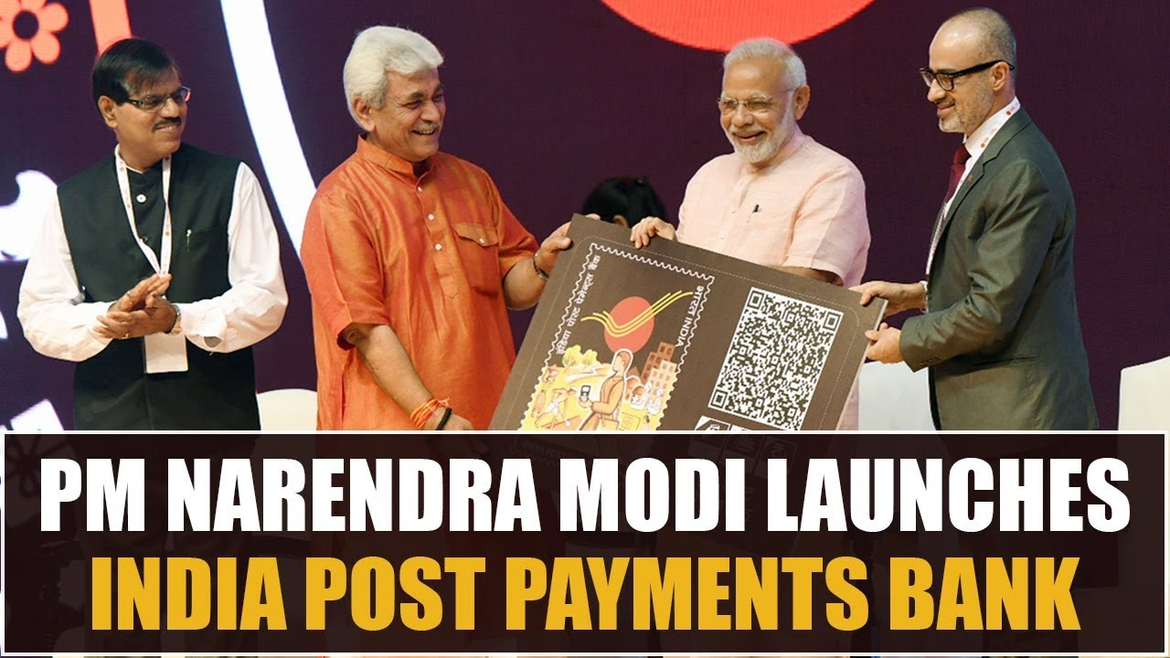 PM Narendra Modi launches India Post Payments Bank