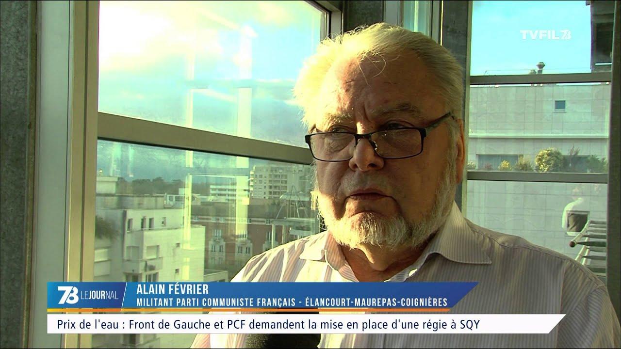 Prix de l'eau : Front de Gauche et PCF demandent la mise en place d'une régie à SQY