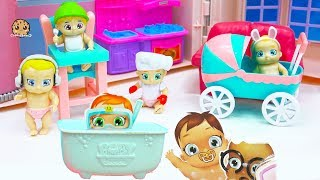 Baby Secrets Boy or Girl ? Color Changing Diapers + Surprise Bath Tub Blind Bags