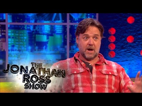 Russell Crowe talks about fame following Gladiator  Jonathan Ross Classic
