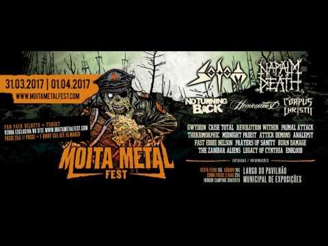 Heavenwood - The High Priestess live @ Moita Metal Fest 2017