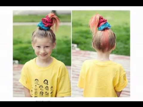 Crazy Hair Day Ideas For Girls Youtube