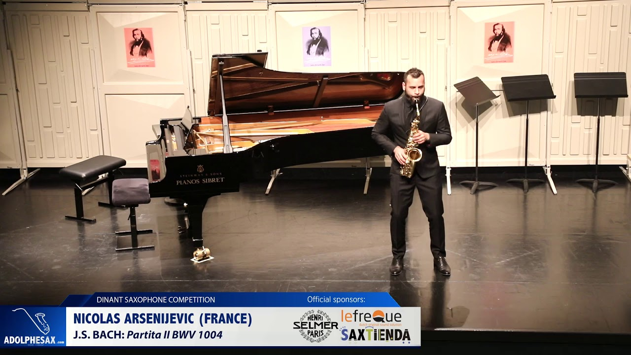 Nicolas Arsenijevic (France)  - Partita II by J.S.Bach (Dinant 2019)