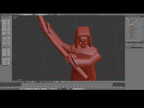 Grim reaper pose 2