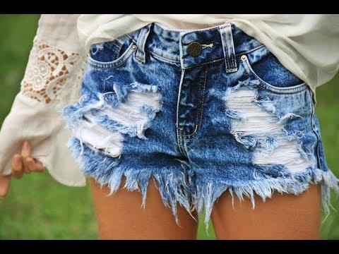 Tutorial shorts customizado destroyed - YouTube 9076bd75f80