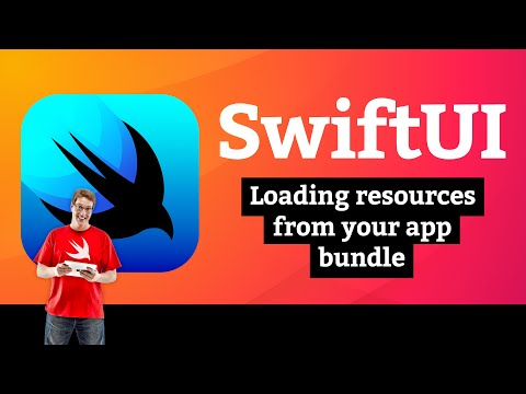 Word Scramble 2/5: Loading resources from your app bundle –SwiftUI Tutorial thumbnail