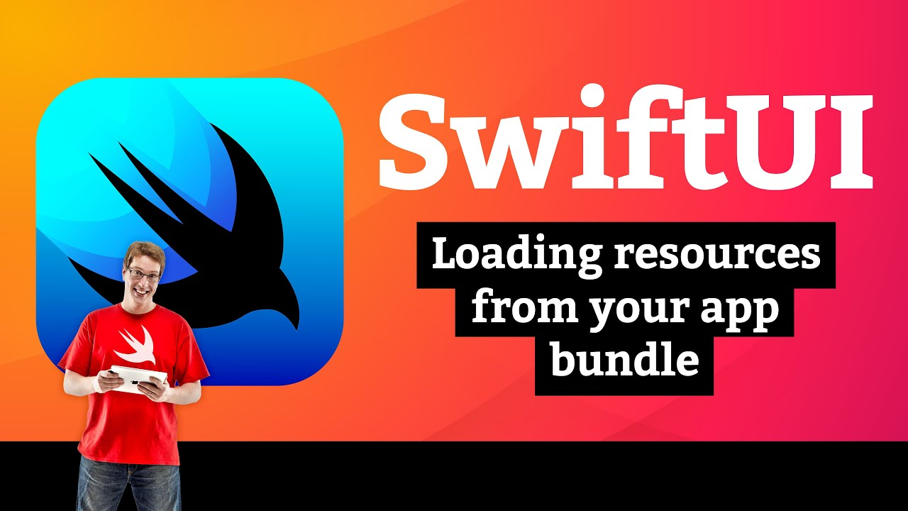 Word Scramble 2/5: Loading resources from your app bundle – SwiftUI Tutorial