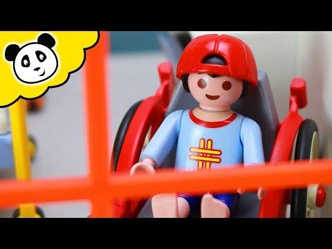PLAYMOBIL Krankenhaus - Sascha darf das Jubiläum nicht feiern - Playmobil Film