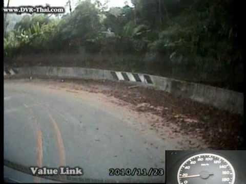 ดอยอ่างขาง ถนนลงเขาตลอดเส้นทาง in Speed3X