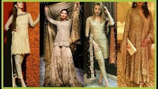 Golden Dress Collection|Latest Golden Dresses|Stylish Dress For Girls|Beautiful You