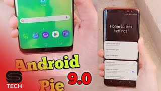 Android Pie For Galaxy S7 S8 S9 Note 8 Note 9 | Launcher