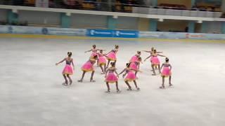 Ариада, Волжск, 1 спортивный разряд, 1 этап кубка России по синхронному катанию на коньках